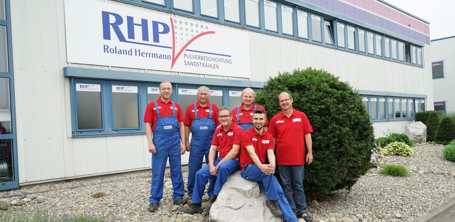 Das Team von Roland Herrmann Pulverbeschichtung
